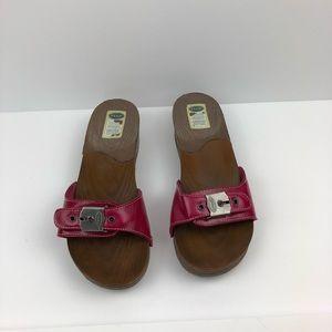 Dr Scholl's Hot Pink Sandals